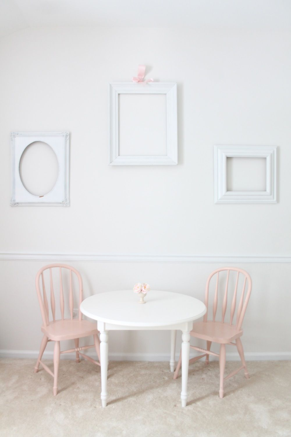 Pottery barn kids table. Color inspiration.