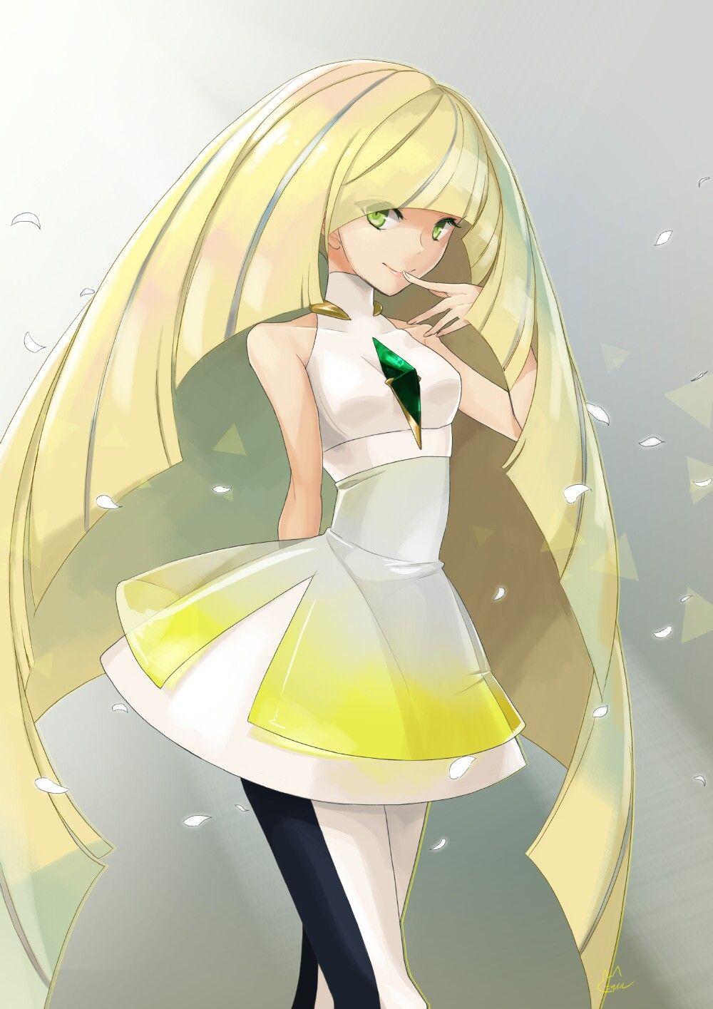 Lusamine Pokemon Personajes Personajes De Anime Lusamine Pokemon
