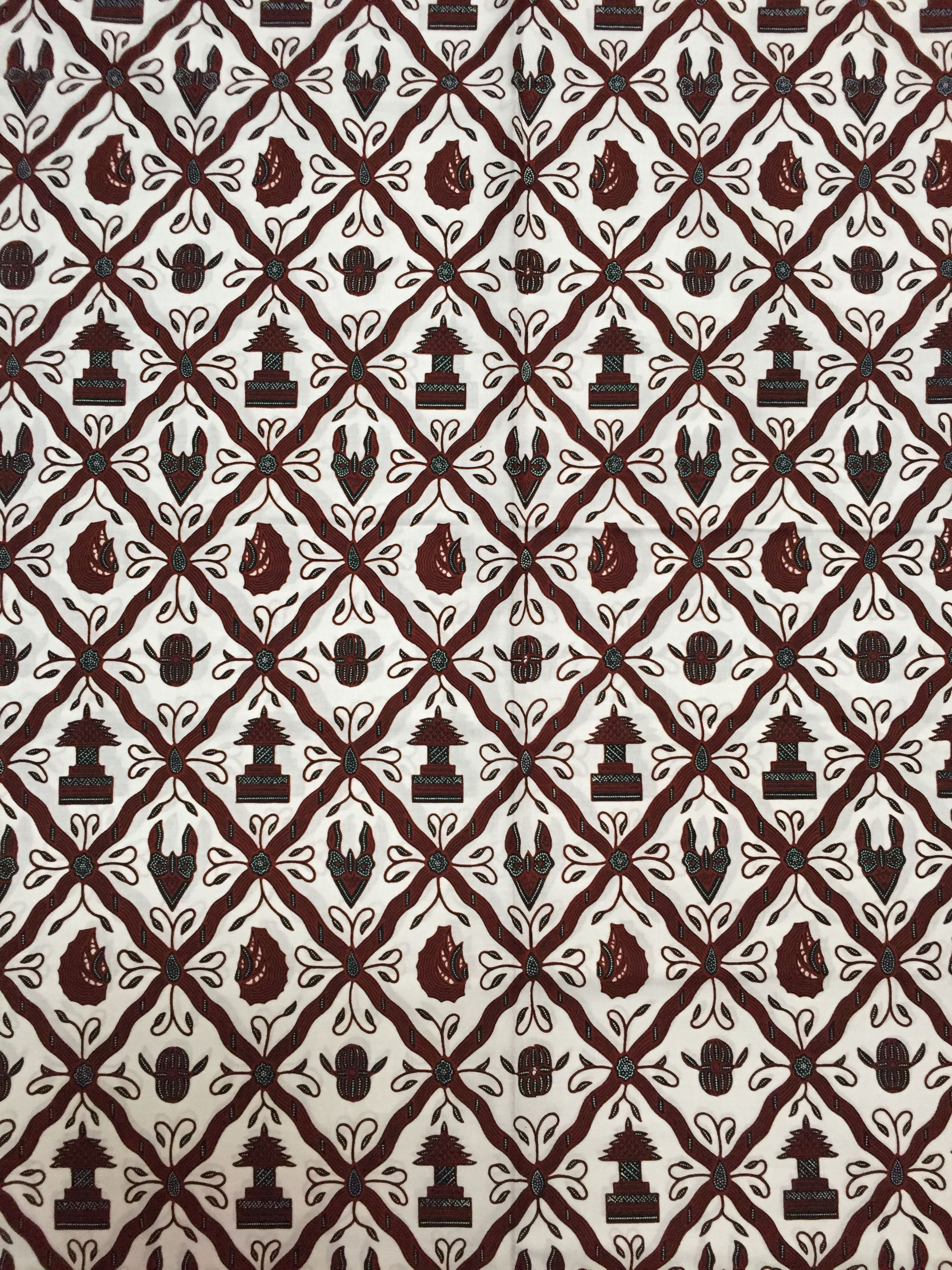 Batik Jogja Sido Luhur latar pethak