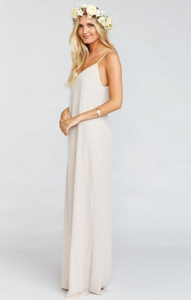 ee347d1f642 Jolie Maxi Bridesmaid Dress ~ Show Me the Ring Crisp