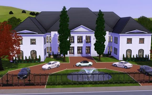 Sims 3 Modern Mansion Floor Plans: Sims House Design, Sims 3 Mansion