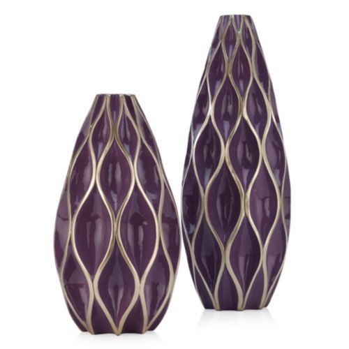 Sequence Vase 23 5 Quot H Amethyst Affordable Modern
