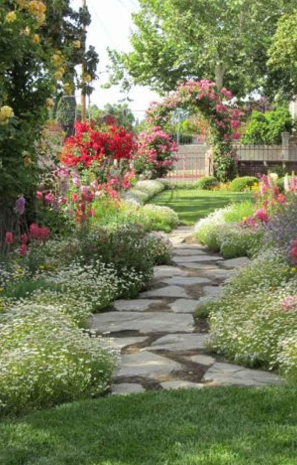 Garden Walkway 100 Stunning Front Yard Cottage Garden