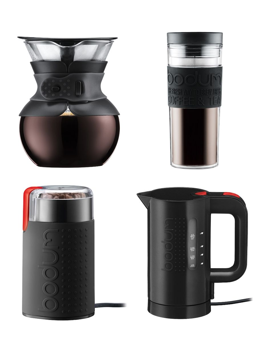 Bodum Pour Over Coffee Maker Set 4 PC