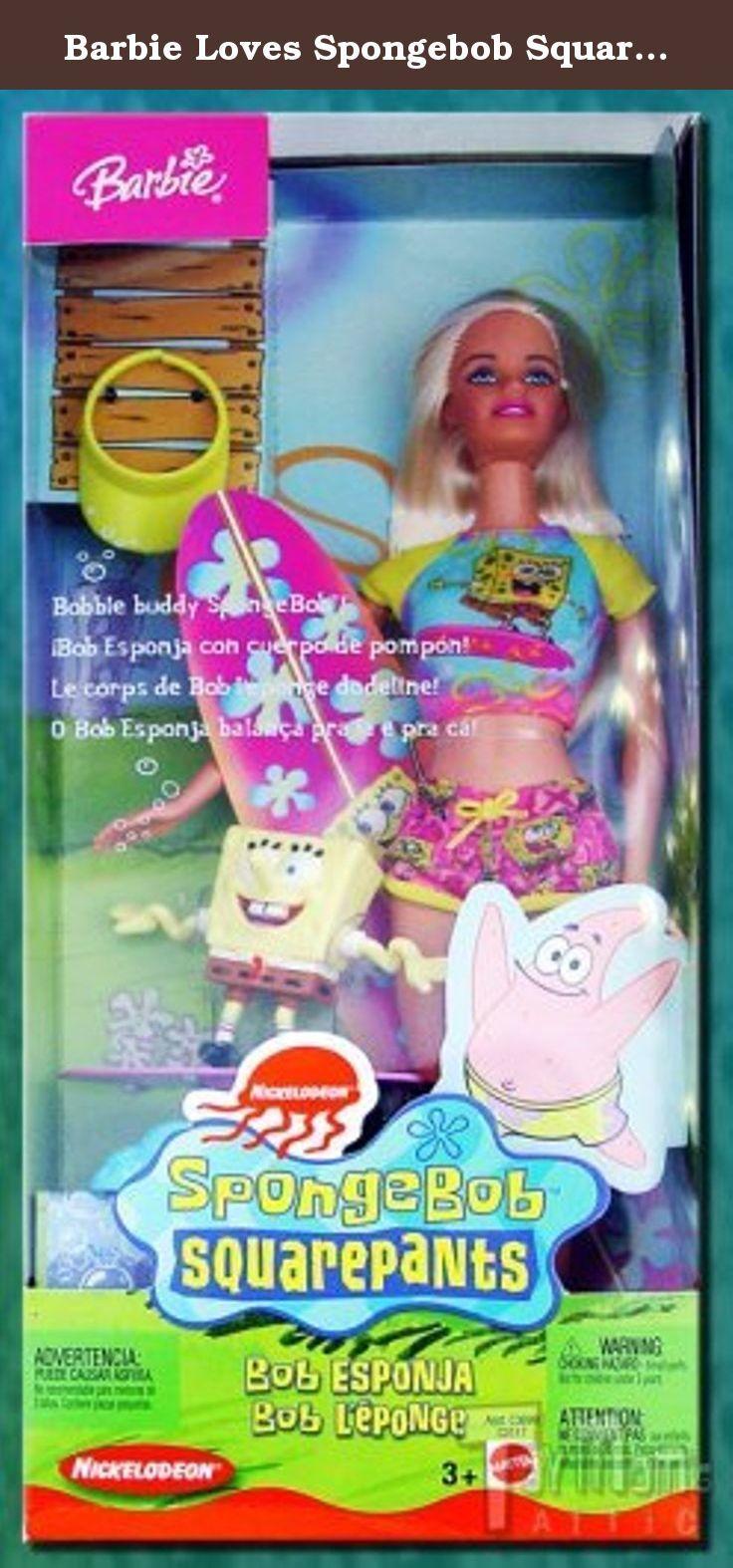 2009 SPONGEBOB SQUAREPANTS by Barbie~Nickelodeon~NRFB