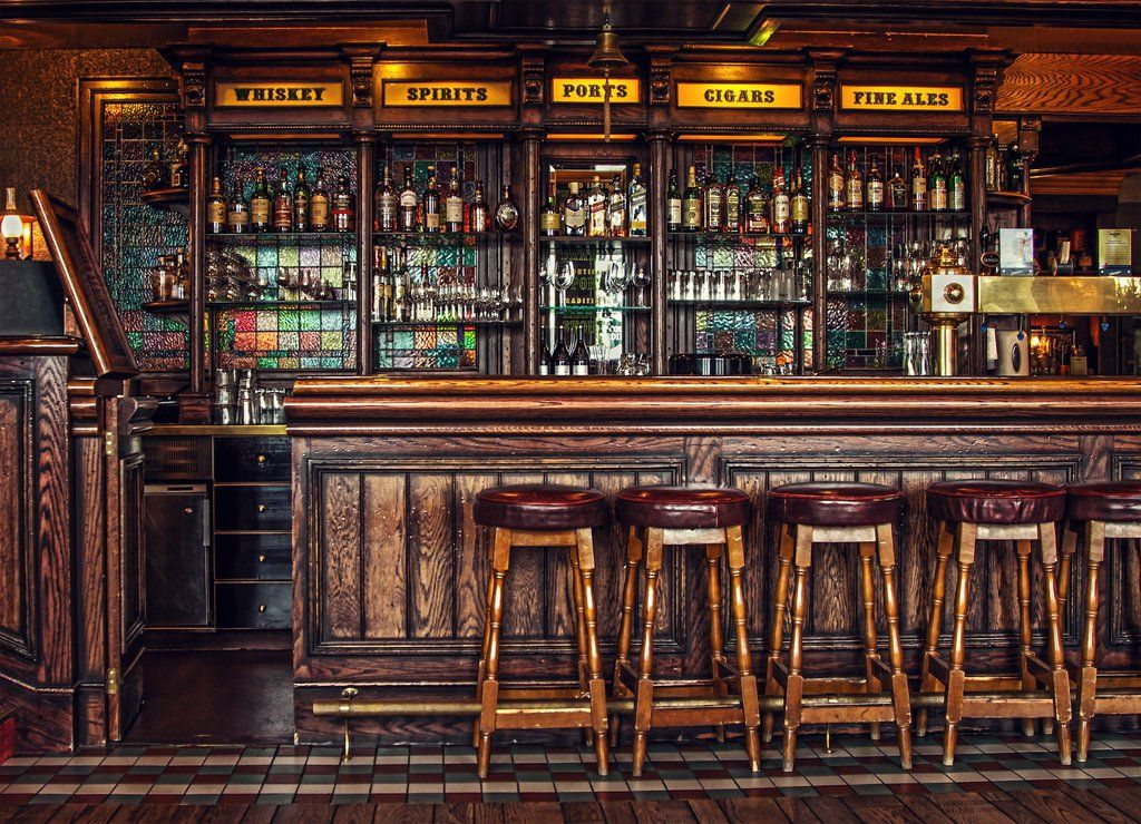 Irish pub decor images
