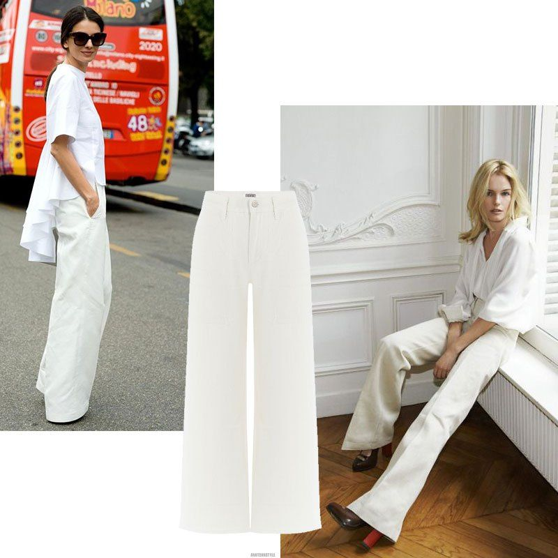 The White Denim Wardrobe - a note on style