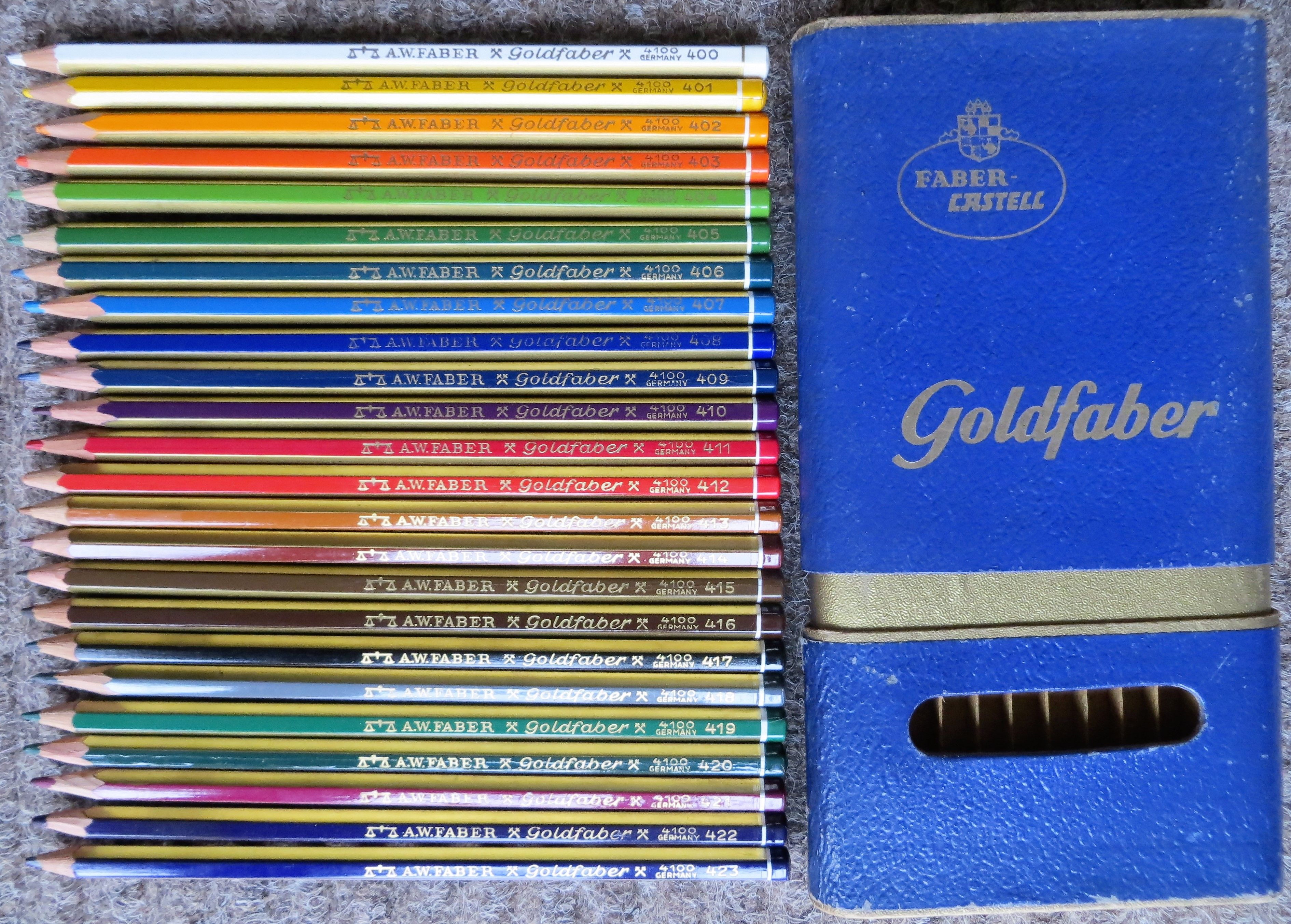 Faber Castell A W Faber Goldfaber 24 Colored Pencils Color Pencil