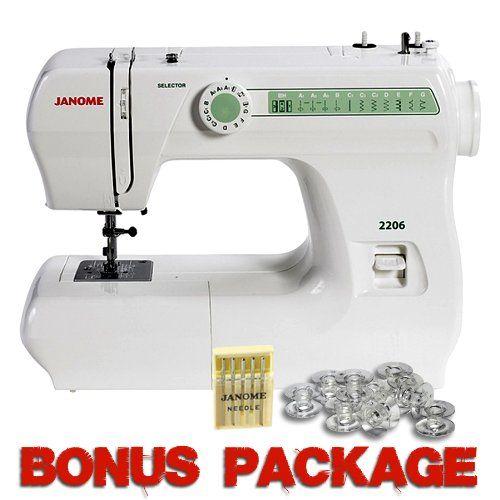 Janome 40 40spm 40 Stitch Full Size Free Arm Sewing Machine With Fascinating Janome 2206 Sewing Machine Reviews