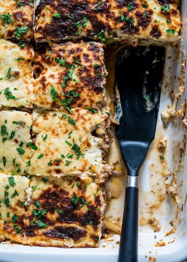 Mighty Moussaka Recipe Moussaka Recipe Food Recipes Moussaka