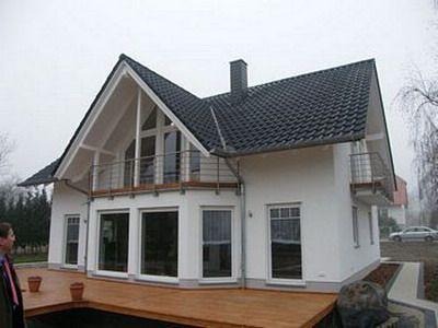 satteldach mit grosser gaube fertig roof. Black Bedroom Furniture Sets. Home Design Ideas