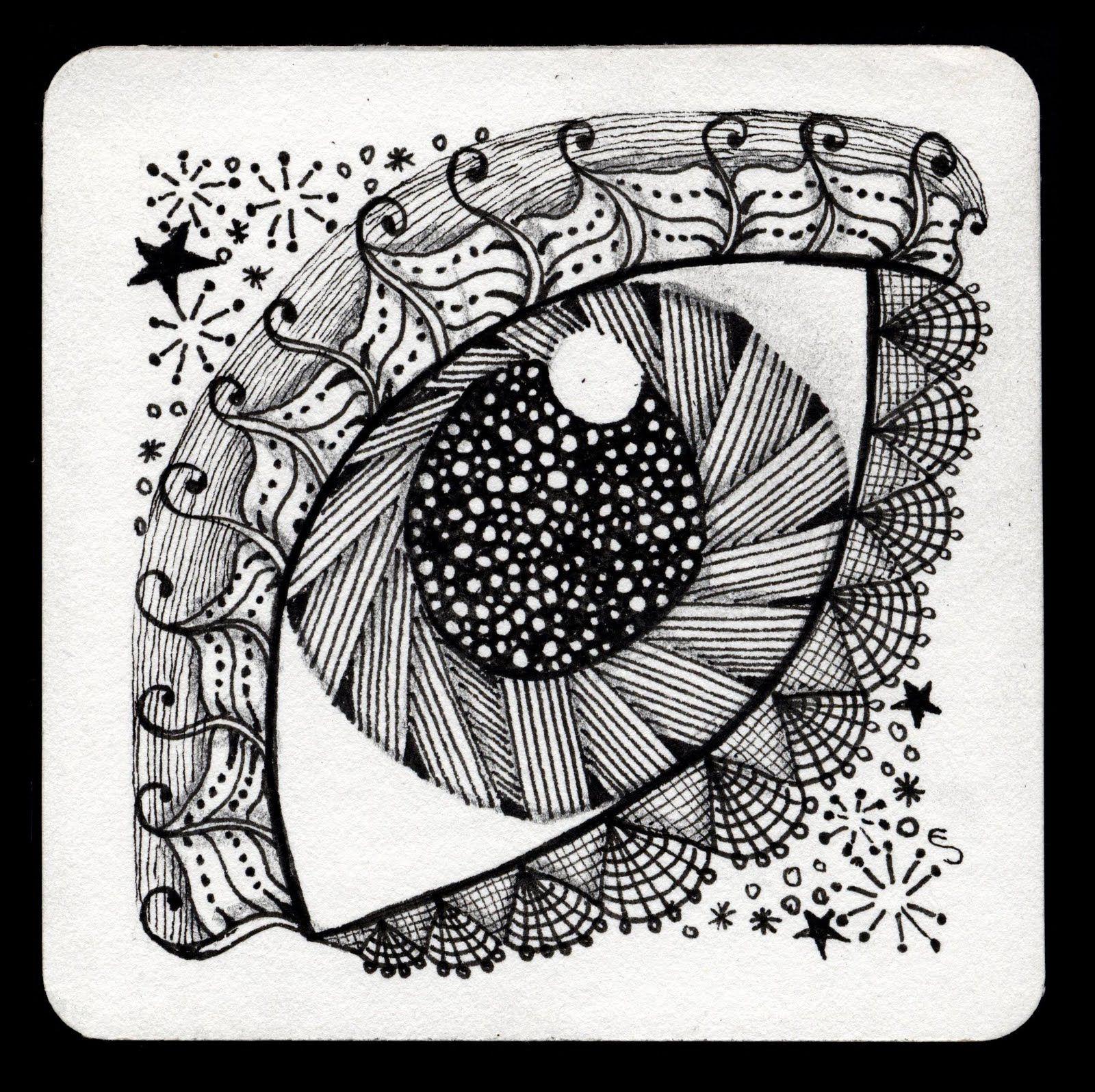 arco de plástica: Garabatos con mucho arte: el arte ZENTANGLE ...