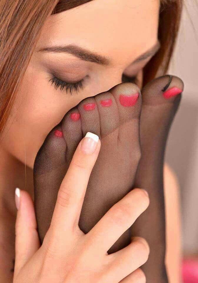 Sexy nylon feet australia
