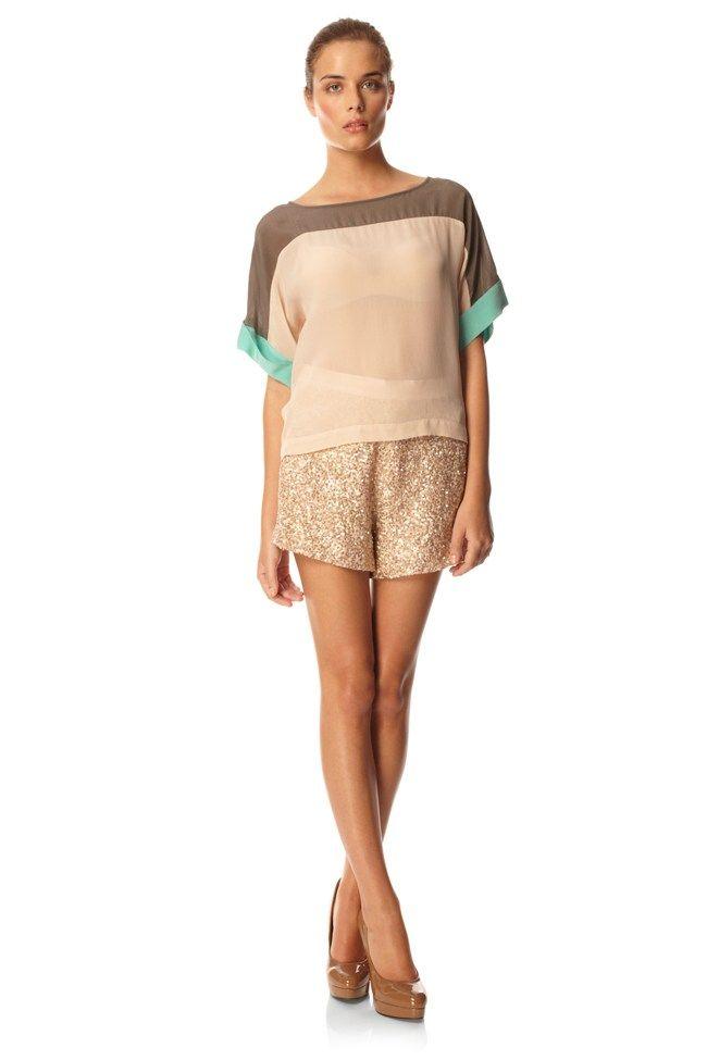 Mini Sequins Shorts