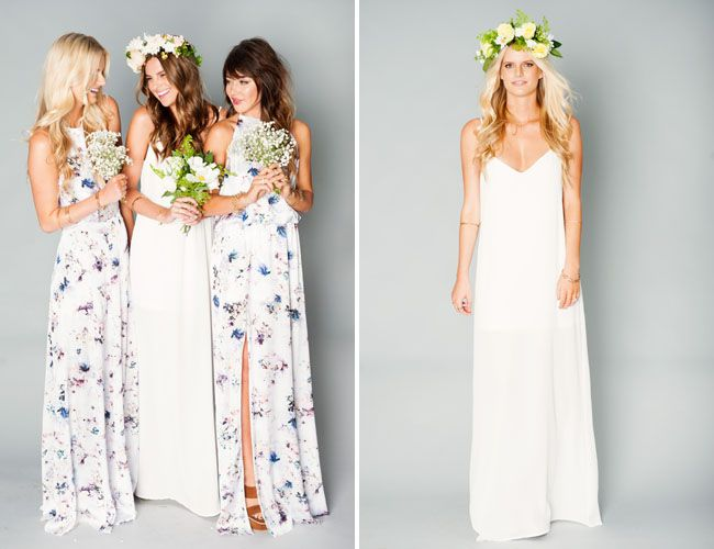 Wedding Dress Show Me Your Mumu Bridesmaid Collection