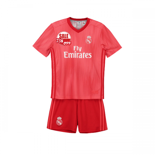 d2cf7a58eef Kids Real Madrid Third Soccer Jersey Kits Children Shirt & Shorts 2018-19  cheap youth soccer jerseys on goaljerseyshop.com