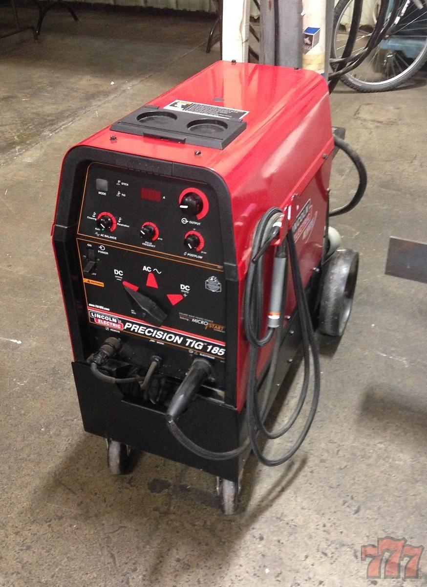 Lincoln Precision Tig 185 Welder | Tools & Shop Equipment | Tool