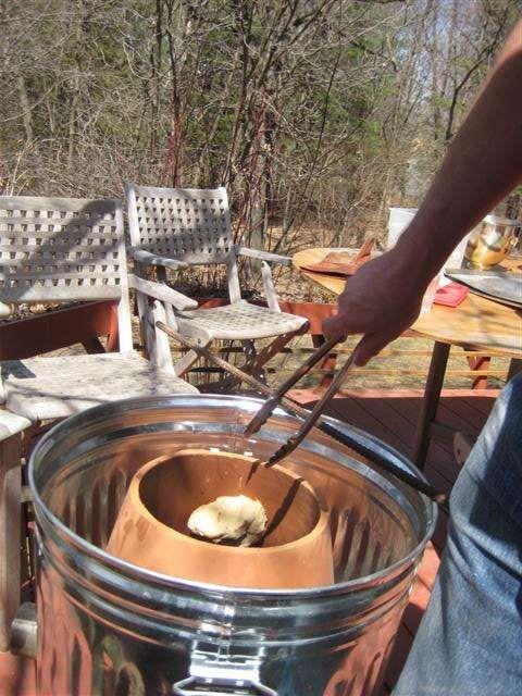 Garbage Can And Flower Pot Tandoor Oven Tandoor Oven