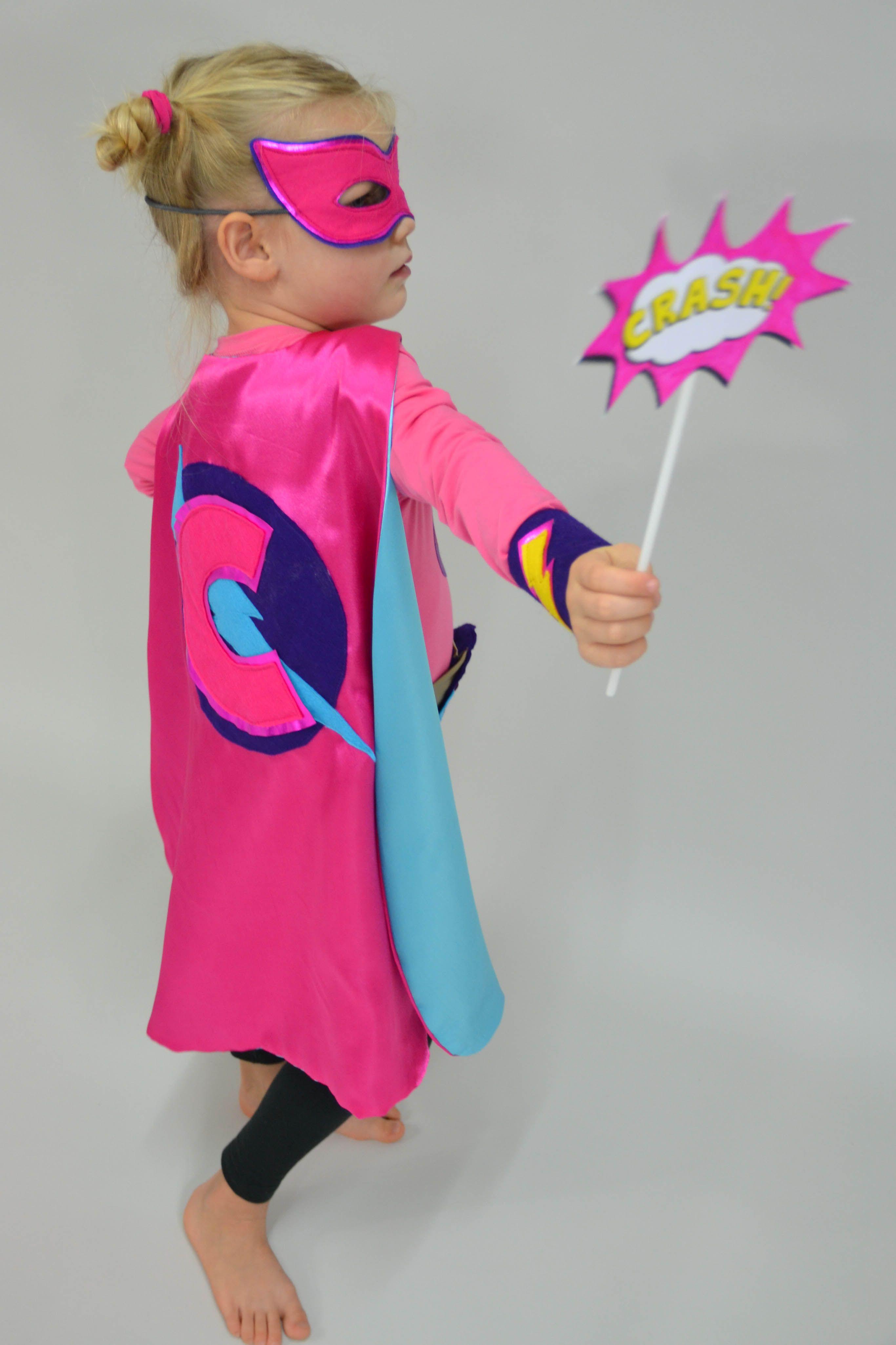 Superhelden / Superhero Cape & Maske von www.kid5.de als
