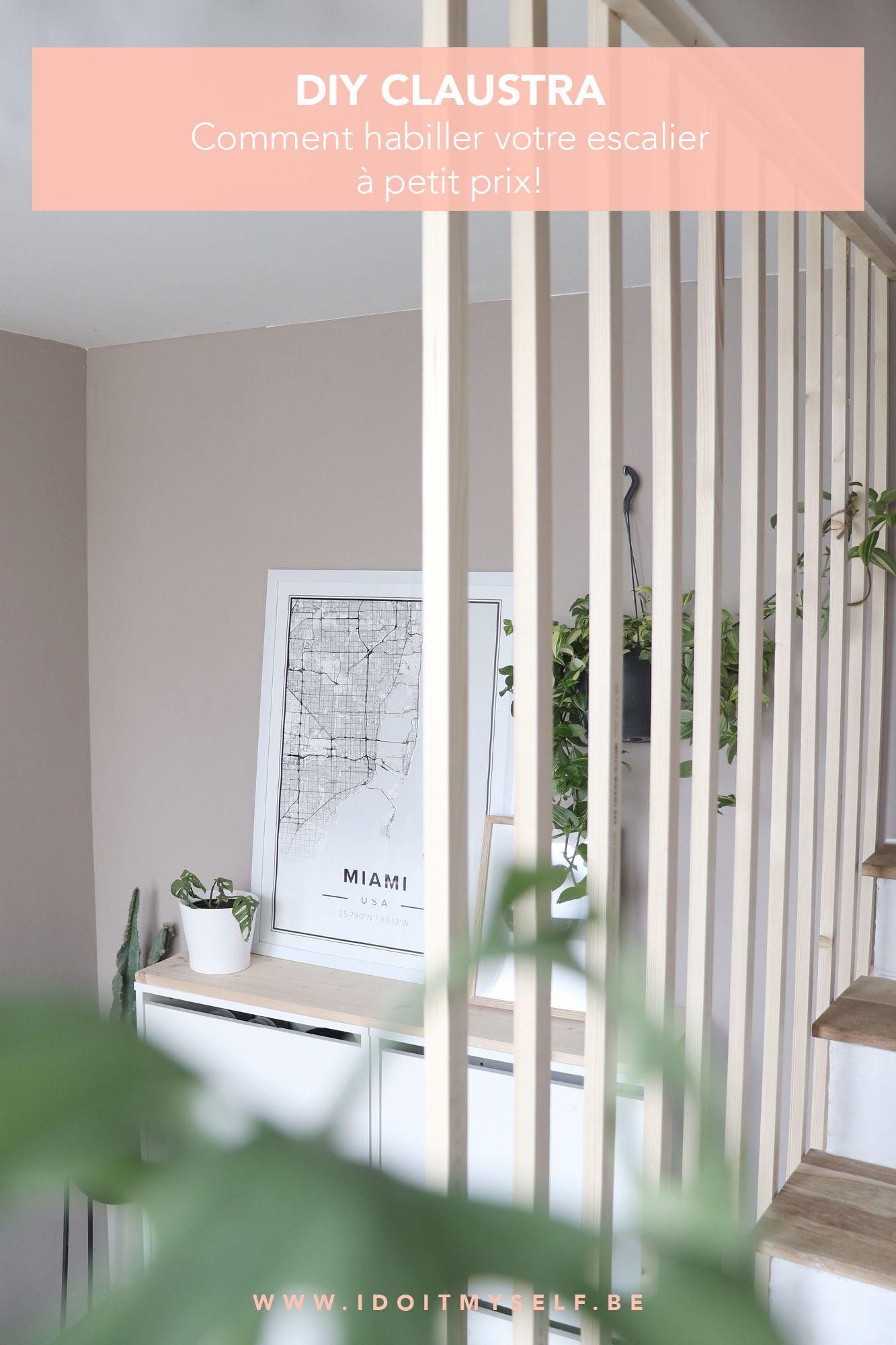 Fabriquer Un Claustra Bois diy - un claustra pour mon entrée | claustra, claustra bois