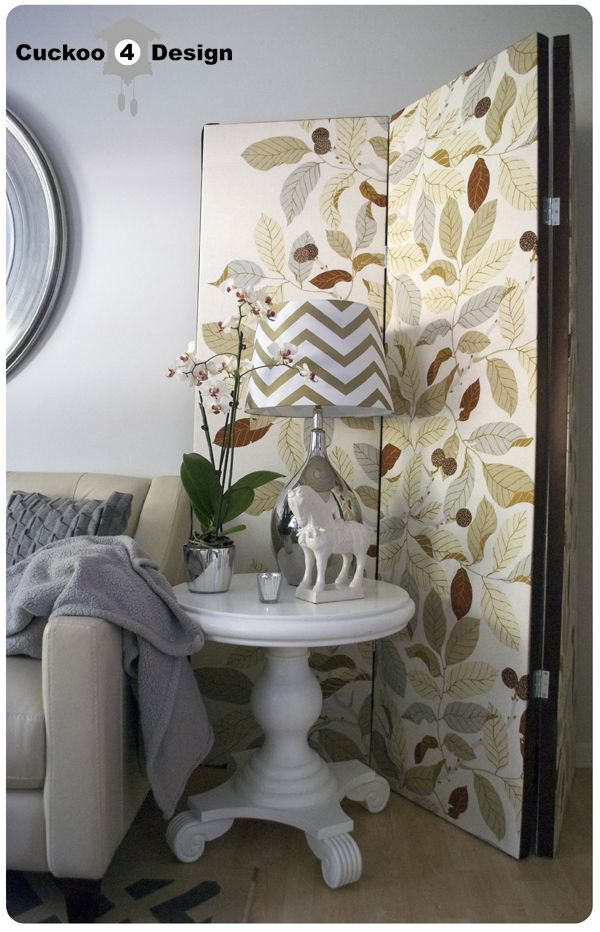 Love this diy room divider for a great way to use a for Zimmerdekoration diy