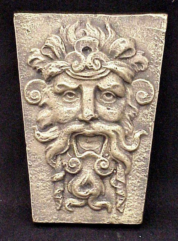 Garden Wall Greenman Terra Cotta Sculpture Decor 10046 In Art, Art  Sculptures