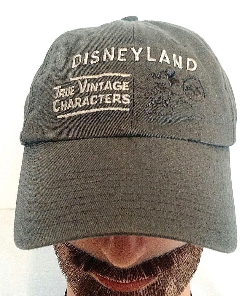 e4d3f9aea Disney Parks Disneyland True Vintage Characters Mickey 55 Baseball Cap Hat # Disney #BaseballCap