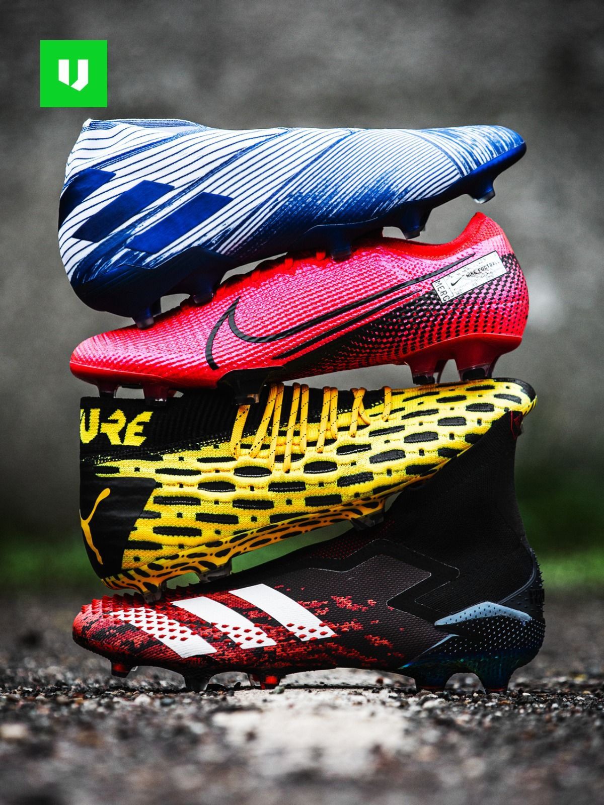The Latest Football Boots Colourful In 2020 Nike Football Boots Puma Football Boots Latest Football Boots