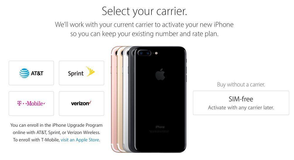 Apple starts sales of simfree iphone 77 plus models