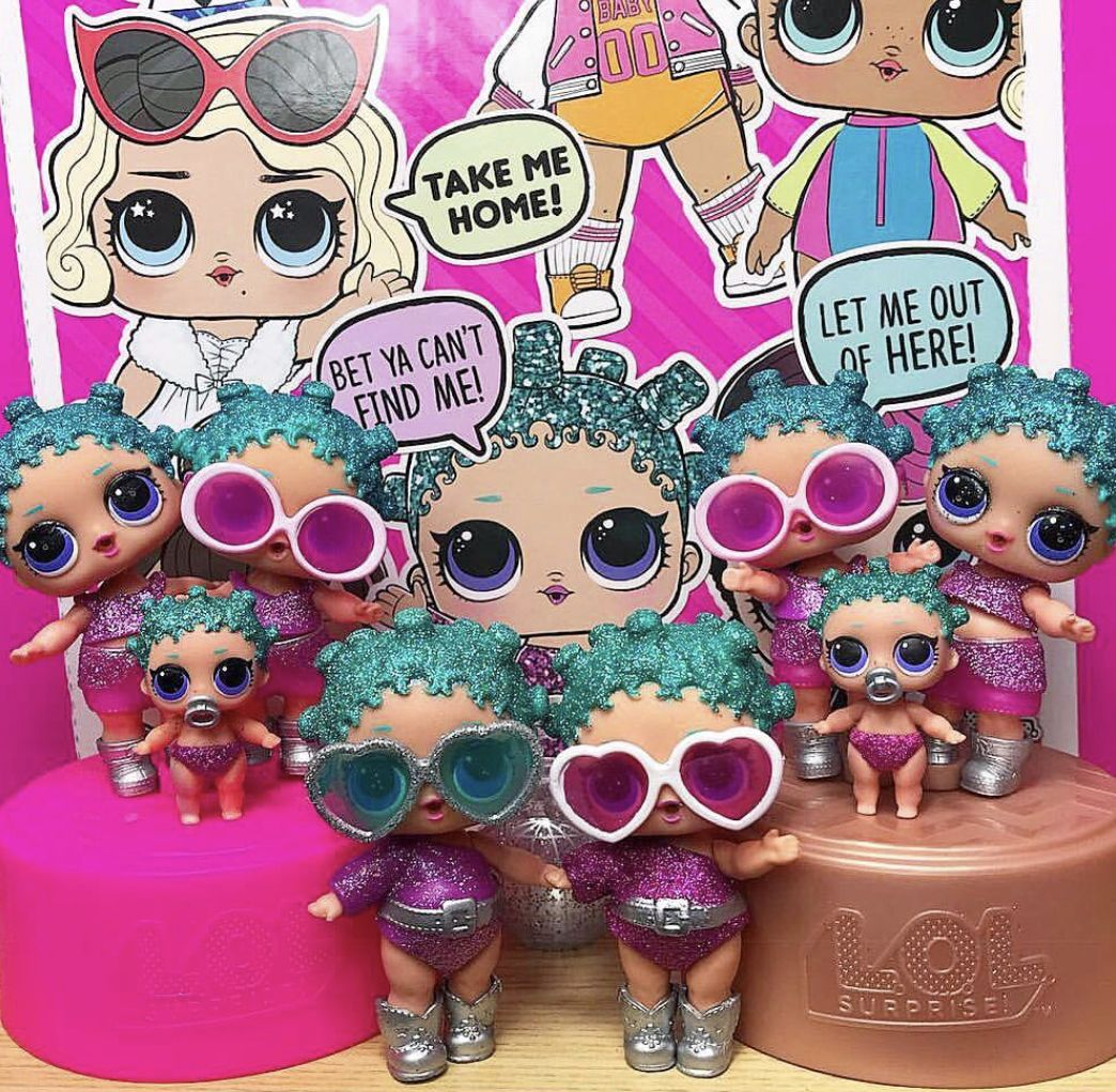8pcs LOL Surprise Doll Series 3 Big Sister Glasses Kids Children/'s Gift Random