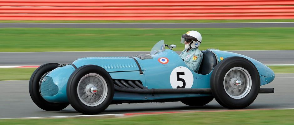 Featured Listing exFangio 1950 Talbot Lago T26GS