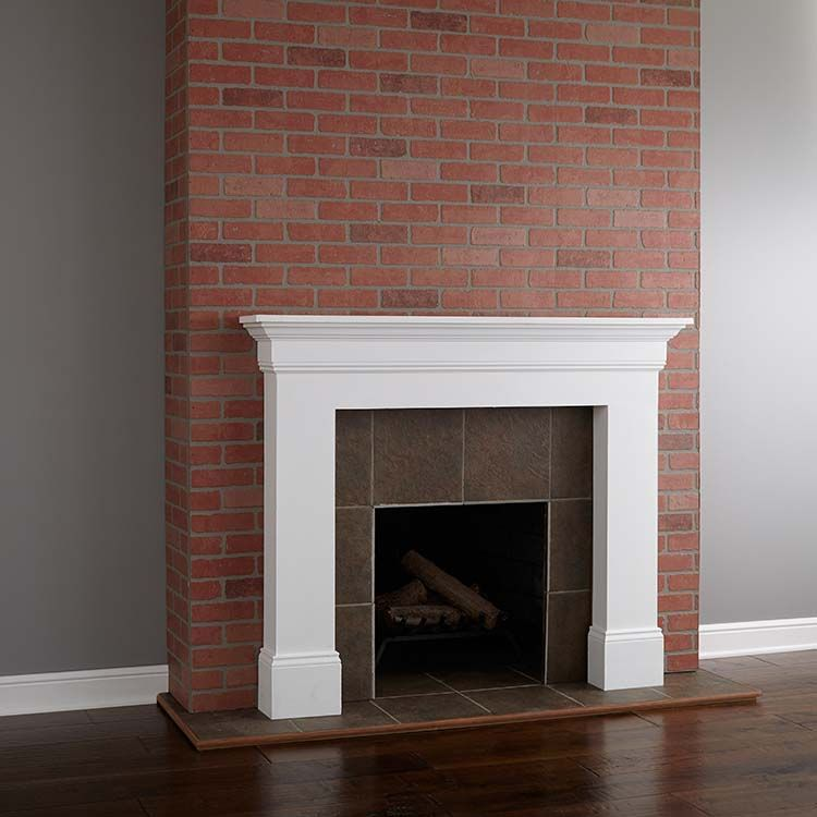 Painting A Brick Fireplace Brick Fireplace Makeover Brick