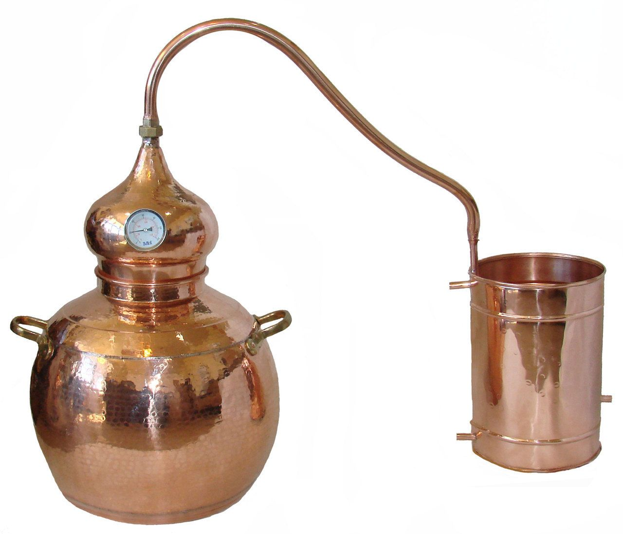 Mile High Water Talk: 10 Gallon ( 40 Liter ) Alembic Copper Still