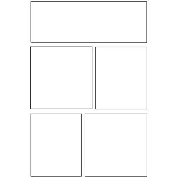 Comic Book Templates  Liked On Polyvore Featuring Frames