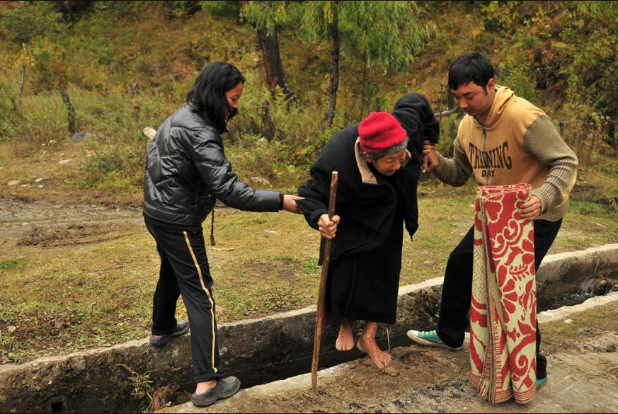 Helping Cross Ditch Helping People Helping Others People