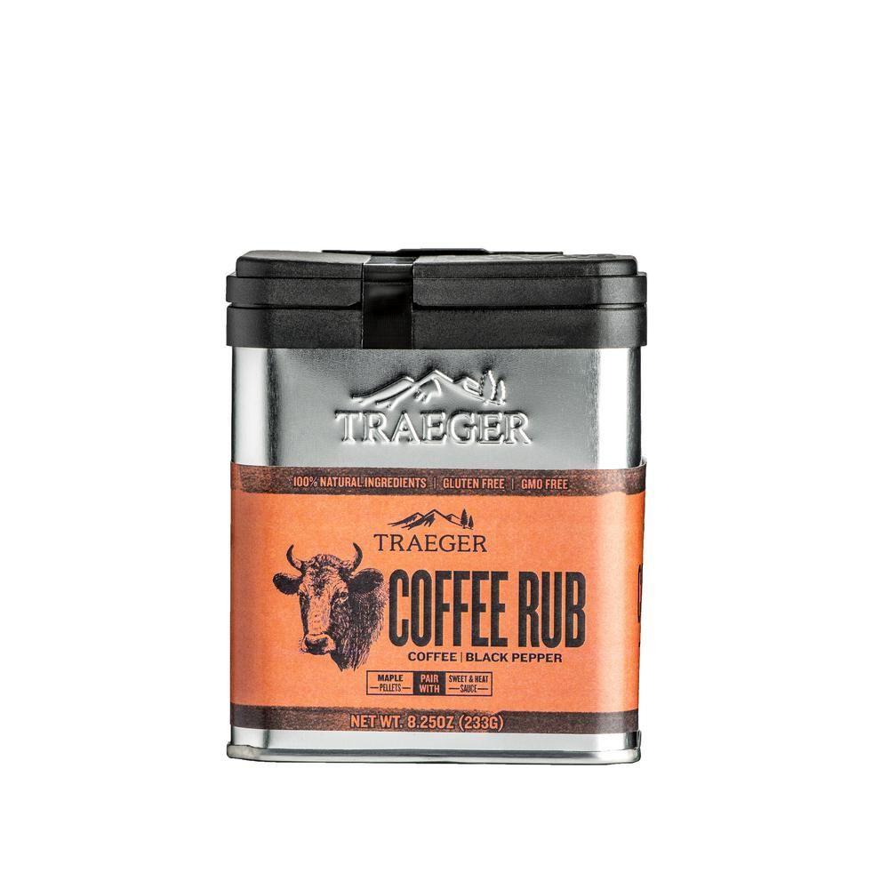 Traeger Coffee RubSPC172 Coffee rub, Traeger pellets