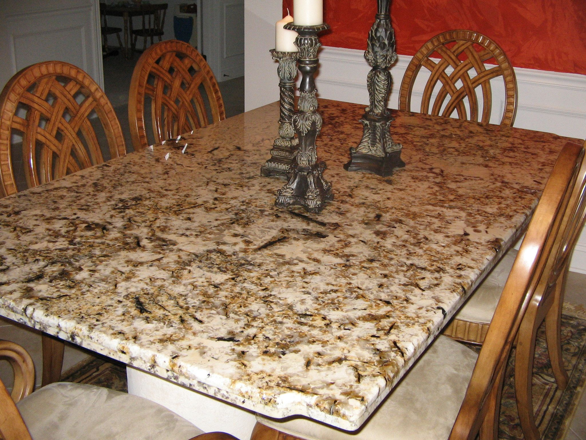 granite table for contemporary kitchen interior furniture design - Kitchen Table Granite