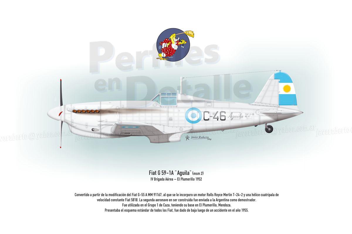Msm cargo tracking - Fiat G 59 1a Aguila Msm 2 Iv Brigada A Rea