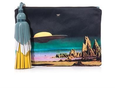 f6183600ea Anya Hindmarch Courtney Star Cruiser clutch on shopstyle.co.uk | Bag ...