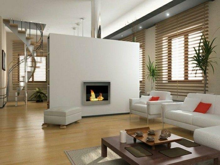 Modern Kamin im wohnzimmer treppen WOHNIDEEN Pinterest - wohnzimmer kamin ethanol