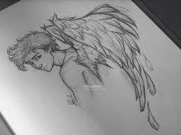 Resultado De Imagen De Dibujos A Lapiz Angeles Caidos Dibujos Angel Para Dibujar Dibujos De Hombres