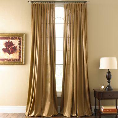 Royal Velvet Curtain Panels