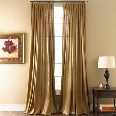 royal velvet hilton rod pocket curtain