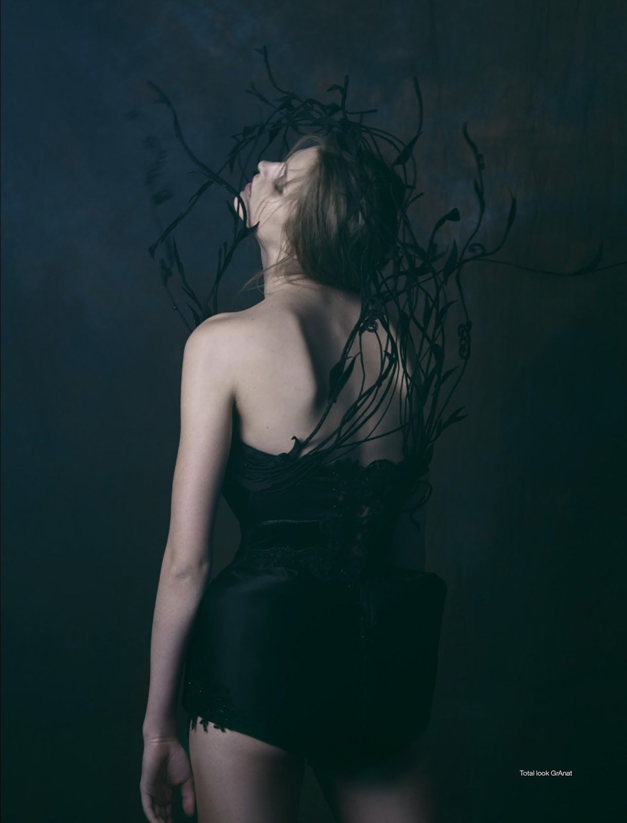 black swan: natalia bulycheva by vladimir vasilchikov for stolnick january 2016   visual optimism; fashion editorials, shows, campaigns & more!