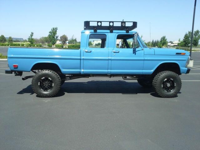 1969 Ford F 250 Crew Cab 4x4 Classic Ford F 250 19690000 For