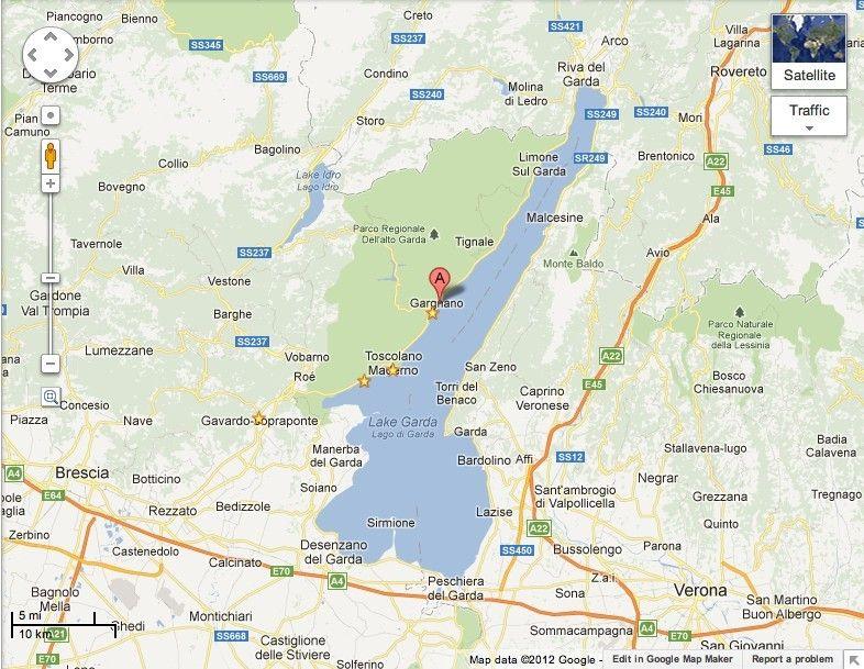 Bezauberndes Haus Am Gardasee Gargnano Karte Gargnano Gardasee