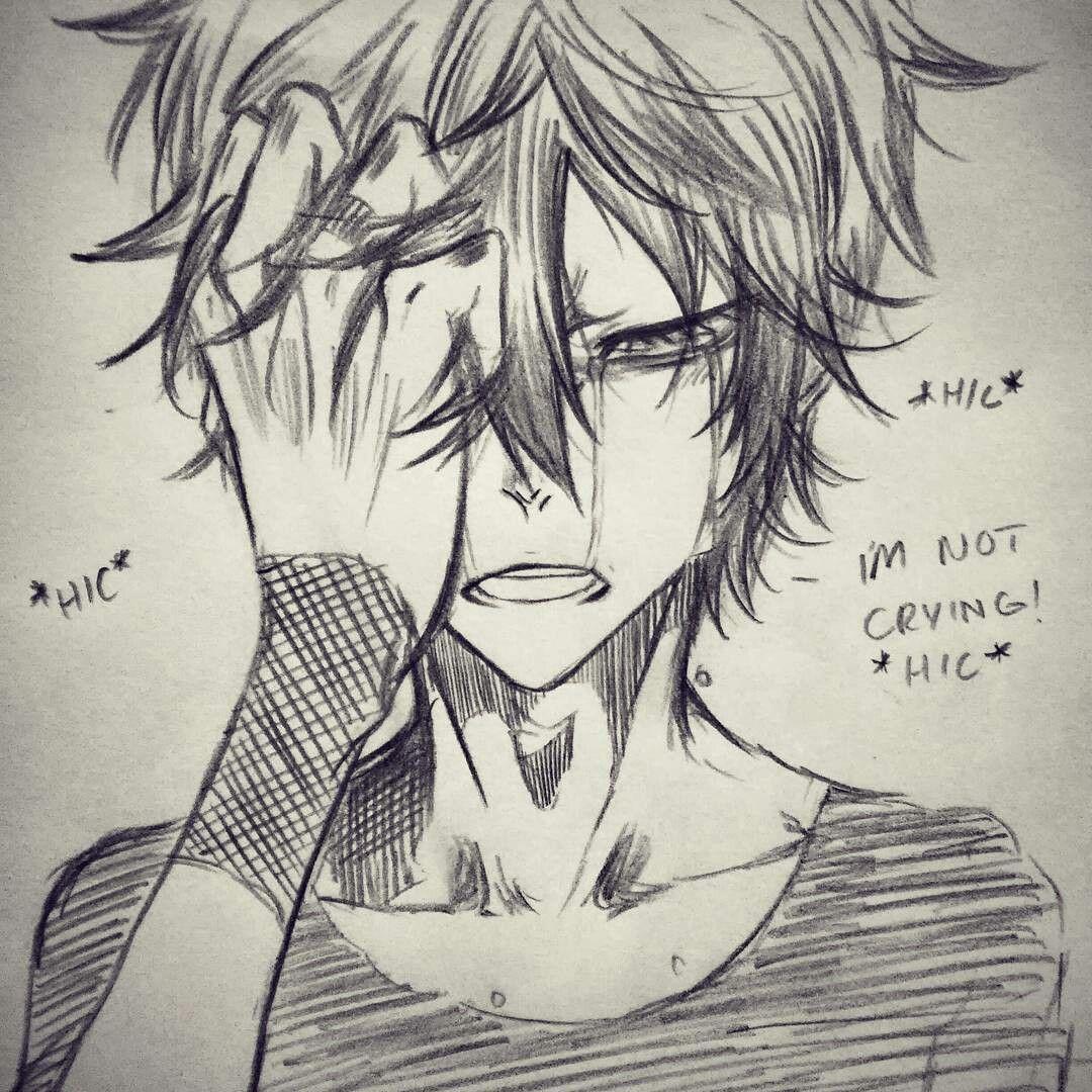 Artist mangakaua crying anime boy hair   idk stuf in 2019