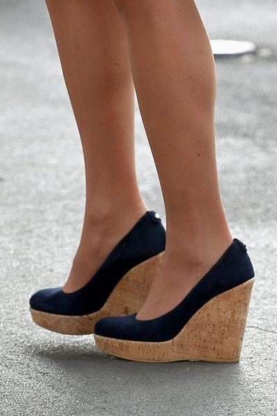 Cu 241 As De Corcho Zapatos Para Gorditas Zapato