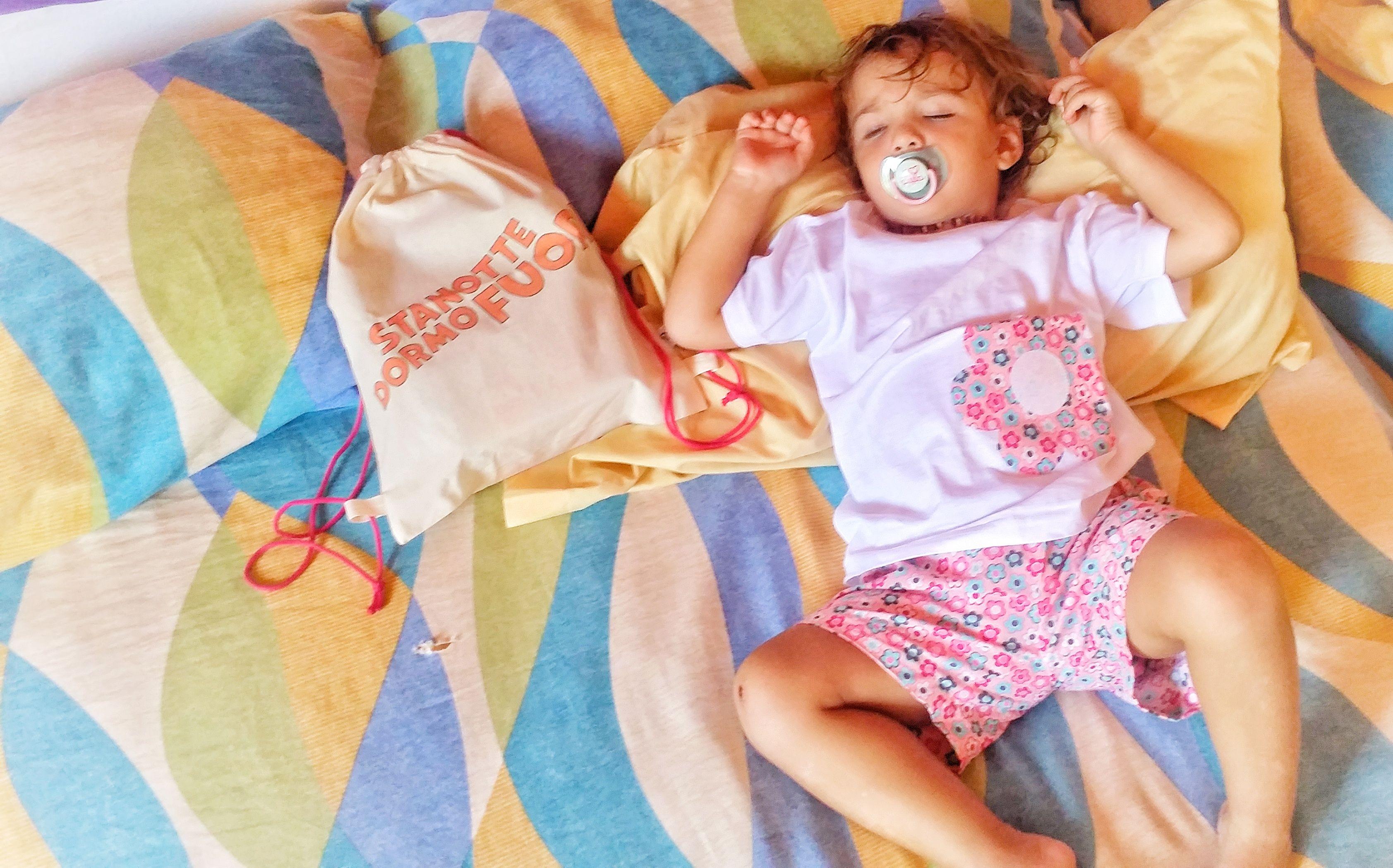 Bambini simpatici ~ Mamma io dormo fuori! un piccolo passo verso lautonomia dei