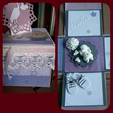 Box för nyfödd eller dop, 50 kr